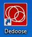 Shortcut to Dedoose Desktop App